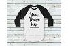 Tshirt Mockup Bundle, Unisex Shirt Mock Up Basic Bundle example image 6