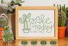 Poke Today In The Face Cactus - A Positive Cactus Pun example image 1