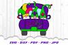 Mardi Gras Truck Gnomes Gnome SVG DXF Cut Files example image 2