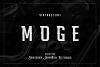 Moge Logo Font example image 1