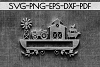 Farm Decor Sign Papercut Templates Bundle, Rustic SVG, DXF example image 9