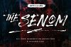 The Senom - Brush Font example image 1