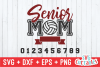 Senior Mom Volleyball | Volleyball svg Cut File example image 2