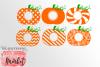 Mini BUNDLE of 6 Pumpkin Monograms SVG DXF EPS PNG example image 2