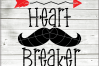 Heartbreaker Valentine Svg - 2 in 1 Boy Valentine svg - Baby example image 3