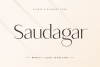 Saudagar Display Font & 7 Bonus Logo example image 15