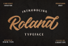 Roland Typeface example image 2