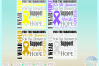 Awareness Ribbon Bundle SVG Dxf Eps Png files example image 6