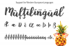 Baby Pineapples - A Sweet and Sassy Script font example image 13