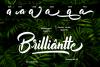 Billionthine Calligraphy Script example image 2