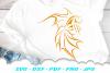 Tribal Goldfish Fish SVG DXF Cut Files example image 4