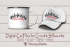 Crown of Thorns with Grace- SVG cut file, Easter SVG example image 2