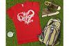 Gildan 64000L Ladies T-Shirt Camping Mockup Bundle Flat Lay example image 11