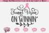 Tunnel Vision on Winnin' - A Cancer SVG example image 1
