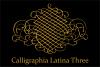 Calligraphia Latina Three example image 4