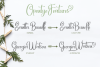 Happy Marlyana font trio example image 4
