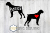 Boxer SVG PNG DXF Dog Breed Lover Cut File Clipart example image 1