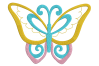 8 Butterflies Machine Embroidery designs example image 8