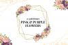 Geometric Gold Frames, Floral Crystal Frames, Pink Frames example image 1
