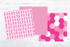 Pink Breast Cancer Awareness Digital Paper example image 4