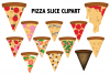 Pizza Slice Clipart example image 1