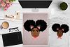 BUNDLE Afro Girl, Afro Girl Face, BAE, BHM SVG Cut File example image 11
