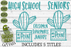 Cactus High School Grades on Point SVG example image 1