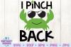 I Pinch Back SVG, St Patrick's Day SVG, Crab SVG example image 3