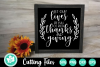 Thanks and Giving - A Thanksgiving SVG Cut File example image 1