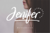 Jenifer // a Casual Handwriting Font example image 1