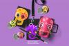Skulls Clipart Set Kids Friendly Look PNG Files example image 1
