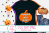 Pumpkin Spice Junkie SVG, Pumpkin, Farmhouse,Autumn, Fall example image 2