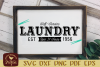 Self Service Rustic Laundry SVG EPS DXF cut file example image 1