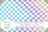 48 seamless Digital Papers - Pastel Gingham serie - DB001 example image 6