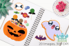 Halloween Candy Clipart, Instant Download Vector Art example image 3