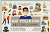 Air Pollution Vector Clipart and Seamless Pattern example image 1