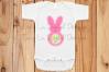 Bunny Monogram Frame example image 4