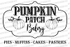 Pumpkin Patch Bakery Fall Sign Cutting File Pies Cookies example image 2
