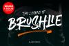 Brushlie - urban typeface - example image 1
