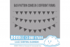 18 White Lace Burlap Bunting Banners Cliparts, multiple lace texture flags Transparent Background Instant Download Personal & Commercial Use example image 4