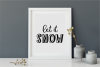 Holiday Season - a festive shadow font example image 6