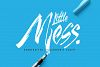 Little Mess font example image 1