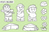 Funny Trolls Digital Stamps example image 2