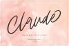 Claude Handwritten Font example image 1