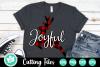 Joyful Plaid Reindeer - A Christmas SVG Cut File example image 1