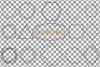 Geometric lineal black frames decor clip art. Wedding border example image 5