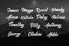 Rendang - Handmade Font example image 8