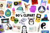 90's Clipart example image 1