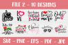 Valentines SVG Bundle| Valentine's Day Cut Files | Funny SVG example image 3
