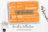 PROCREATE Dividers Stamp Brushes | 40 botanical dividers example image 1